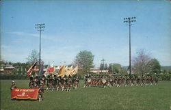 The Tam O' Shanters Marching Band Postcard