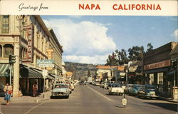 Greetings from Napa California