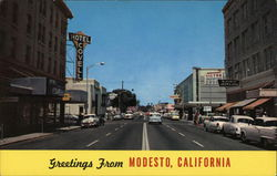 Greetings from Modesto, California