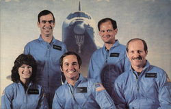 Space Shuttle Challenger Crew Members