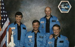 STS-6 Astronaut Crew, Johnson Space Center