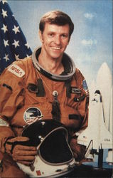 Astronaut Joe H. Engel