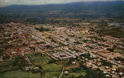 Aerial View of Cartago, Costa Rica