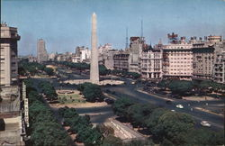 Argentina--View of Avenue