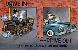 Drive In...Drive Out...A Trade is Easier Than You Think