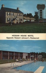 Hessian House Motel Opposite Howard Johnson's Restaurant