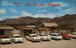 Entrance to Old Tucson, Arizona