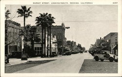 Market Street, Looking South, Redding, California