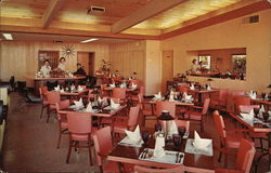 Inside View of Walt's Steak House