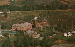 Aerial View of Maine Maritime Academy