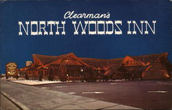 Clearman's North Woods Inn Postcard