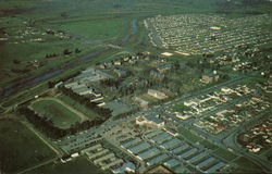 Aerial View Of Stockton College