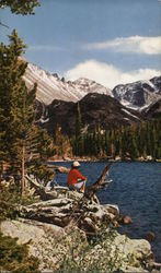 Bear Lake in Rocky Mountain National Park Postcard