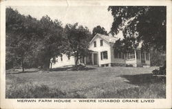 Merwin Farm House Where Ichabod Crane Lived