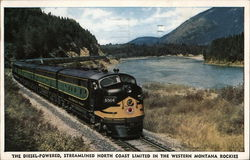 The Diesel-Powered, Streamlined North Coast Limited