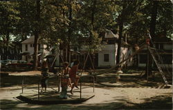 Children's Playground at Oakwood Park, Lake Wawasee