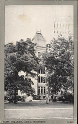 Alma College Postcard