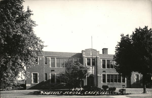 Roosevelt School Casey Illinois