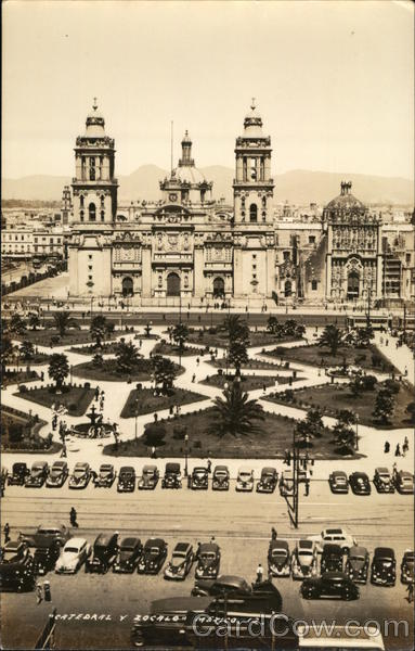 Catedral Y Zocalo Mexico City