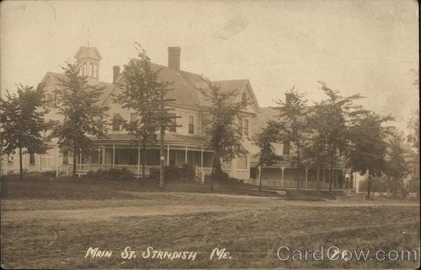 Main Street Standish Maine