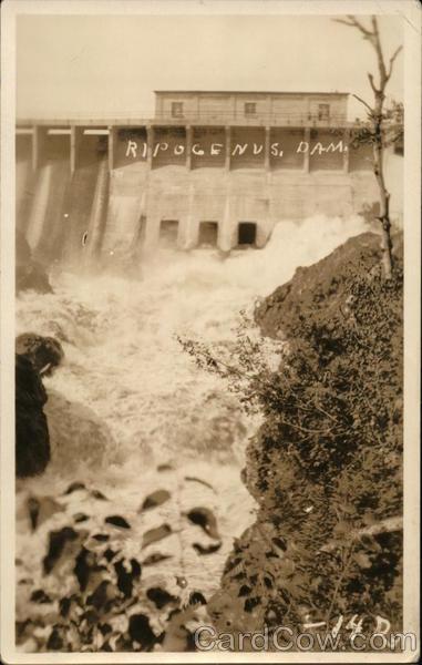 Ripogenus Dam, Baxter Park Millinocket Maine