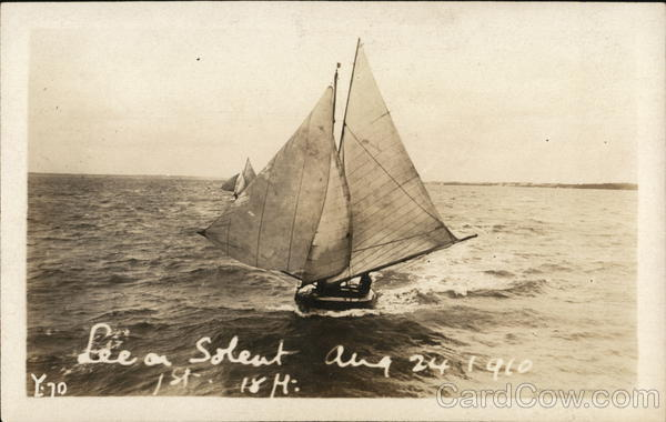 Sail Boat Lee-on-Solent England