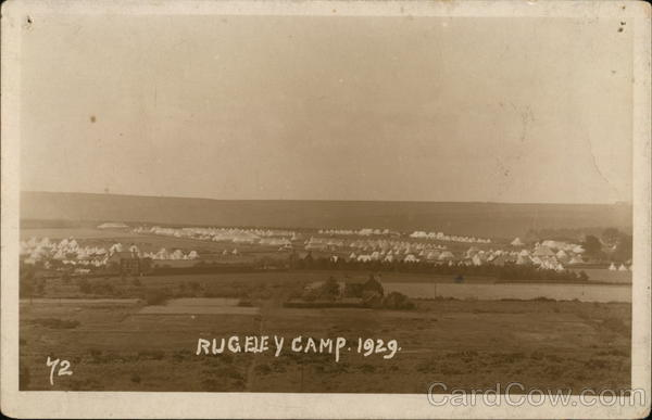 Rugeley Camp 1929 Military