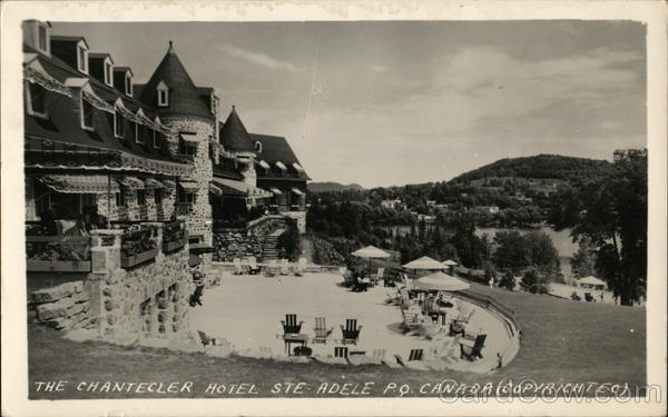 The Chantceler Hotel Ste. Adele Canada Quebec