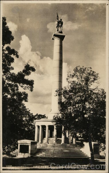 New York Monument, Lookout Mountain Chattanooga Tennessee