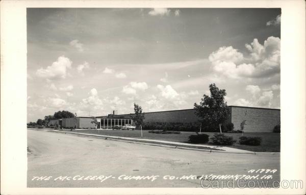 The McCleery-Cumaing Co., Inc. Washington Iowa
