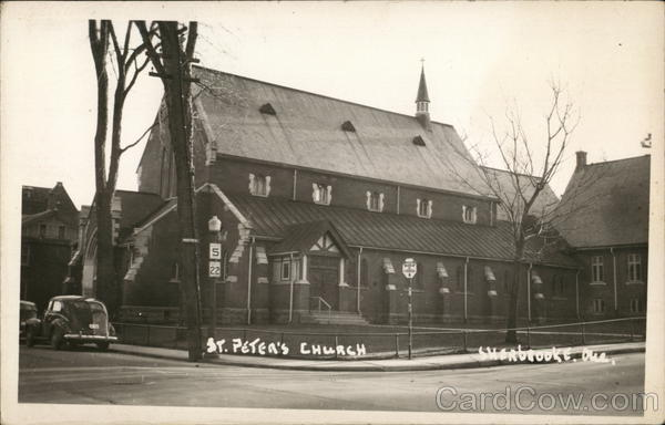 St. Peter's Church Sherbrooke Canada Quebec