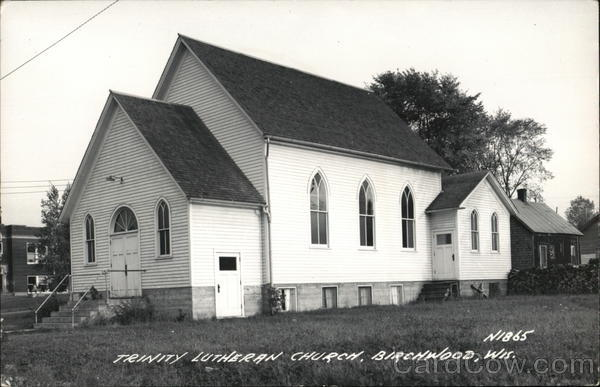 Trinity Lutheran Church Birchwood Wisconsin