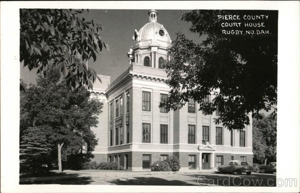 Pierce County Court House Rugby North Dakota