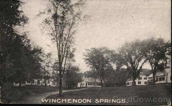 View of Winchendon Springs Massachusetts