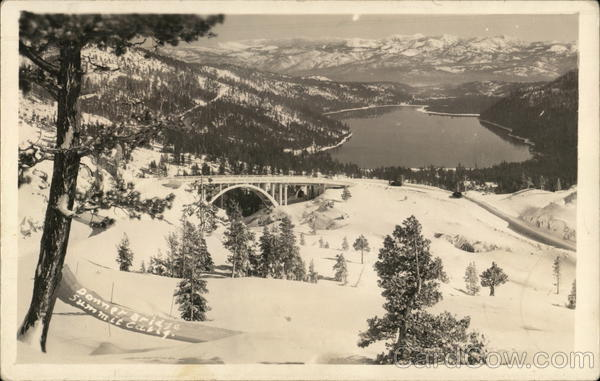 Donner Bridge Summit California