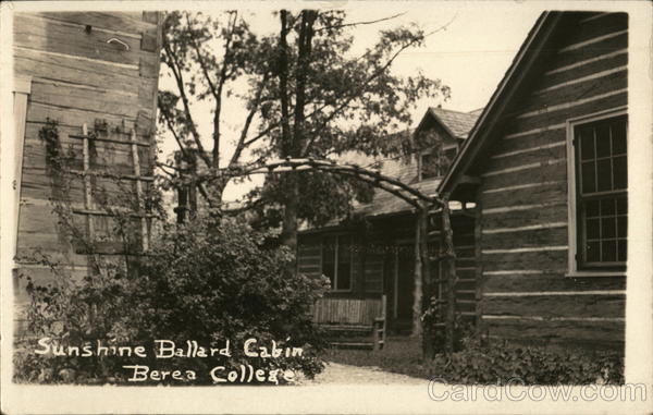 Sunshine Ballard Cabin, Berea College Kentucky