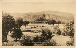 Moat Mountain and The Ledges from the Town Postcard