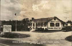 Down Easter Restaurant, Rt. 1A and 3