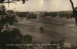 Osage Golf Course from Hilltop Hole