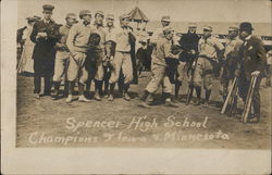 Spencer High School, Champions of Iowa & Minnesota