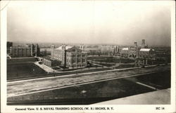General View, U.S. Naval Training School (W.R.)