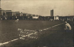 Ball Grounds, Base Hospital, Camp Dodge