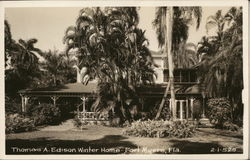 Thomas A. Edison Winter Home