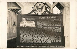 Historic Fort Randall Chapel