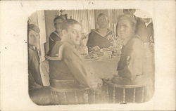 Sailors Eating at Table