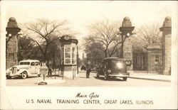 Main Gate U.S. Naval Training Center
