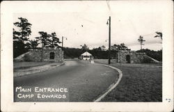 Main Entrance, Camp Edwards