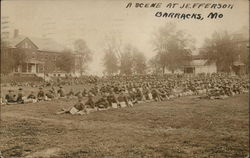 A Scene at Jefferson Barracks