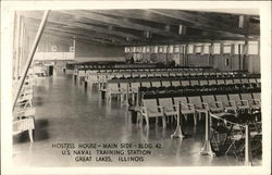 U.S. Naval Training Station: Hostess House - Main Side - Bldg. 42