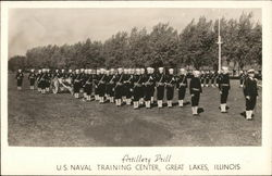 Artillery Drill, U.S. Naval Training Center